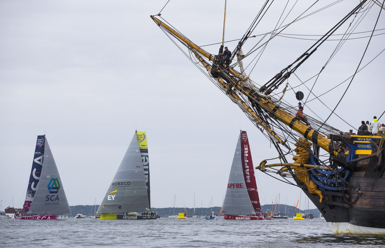 June 27, 2015. Inmarsat In-Port Race Gothenburg.